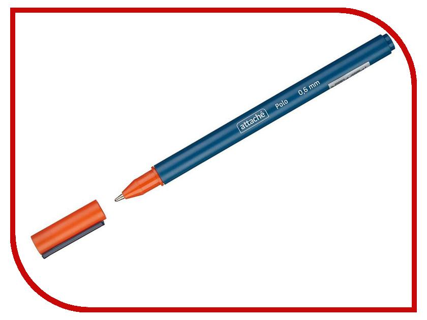 Ручка шариковая Attache Polo Blue 563876 ручка шариковая attache bo bo blue 131233