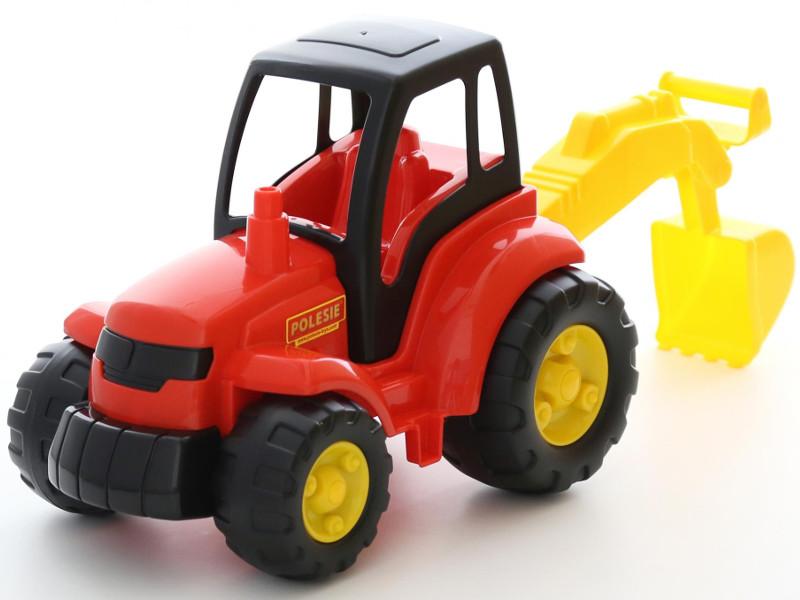 Игрушка Полесье Трактор Чемпион с лопатой 0568