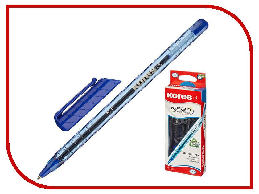 Ручка шариковая Kores Blue 39511 маркер kores 1mm red 282355