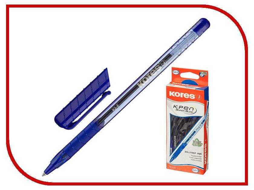Ручка шариковая Kores Blue 369794 ручка шариковая kores 4шт 270431