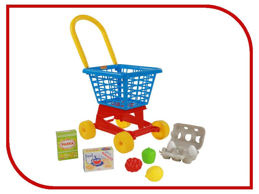 Игра ПолесьеТележка Supermarket №1 + набор продуктов №2 67890 тележка karcher ht80 2 645 042 0