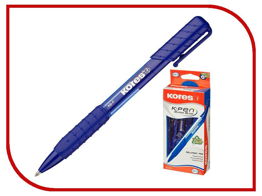 Ручка шариковая Kores Blue 369796 ручка шариковая kores 4шт 270431