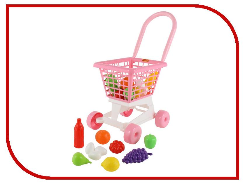 Игра ПолесьеТележка Supermarket №1 + набор продуктов 68477