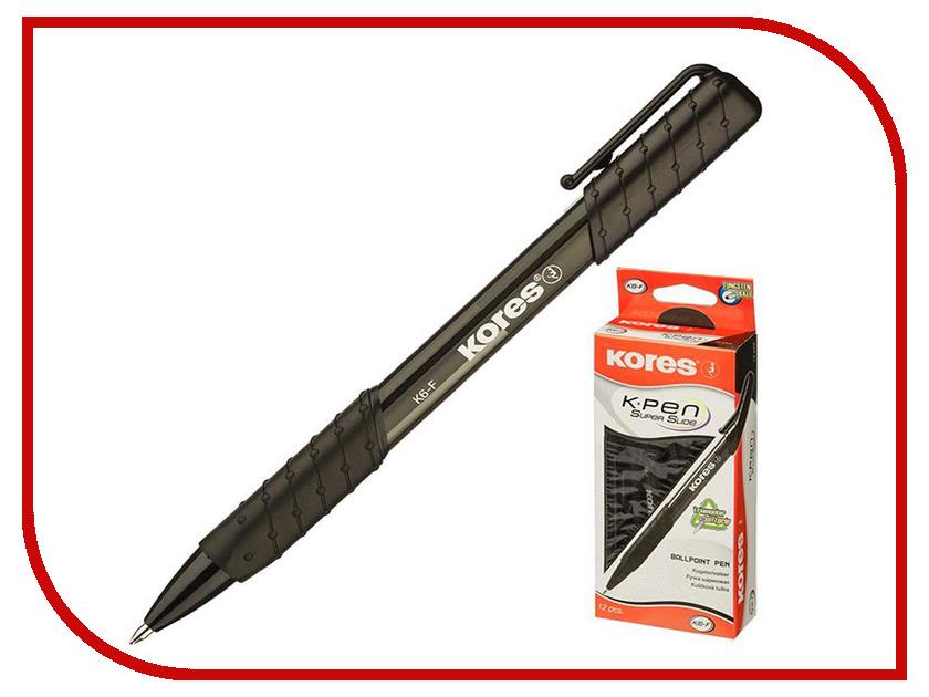 Ручка шариковая Kores Black 369797 клей kores schoolfix 20ml 328248