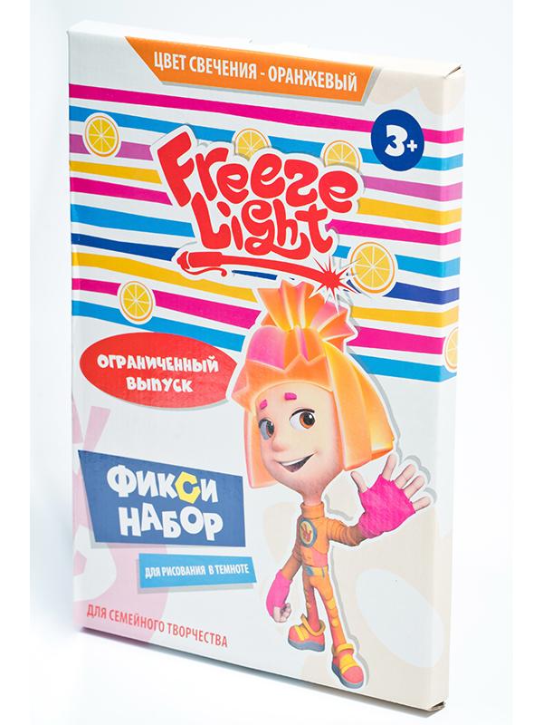 Планшет для рисования светом Freeze Light Фиксики Orange FL-A4-17-C