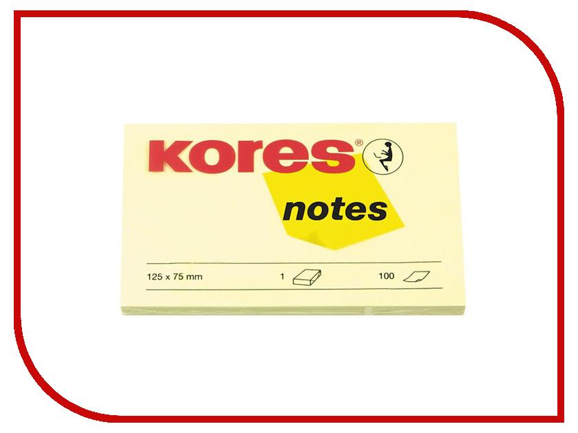 Фото - Стикеры Kores 125x75mm 100 листов Yellow 56393 стикеры для стен chinastyler 60 92 diy month1