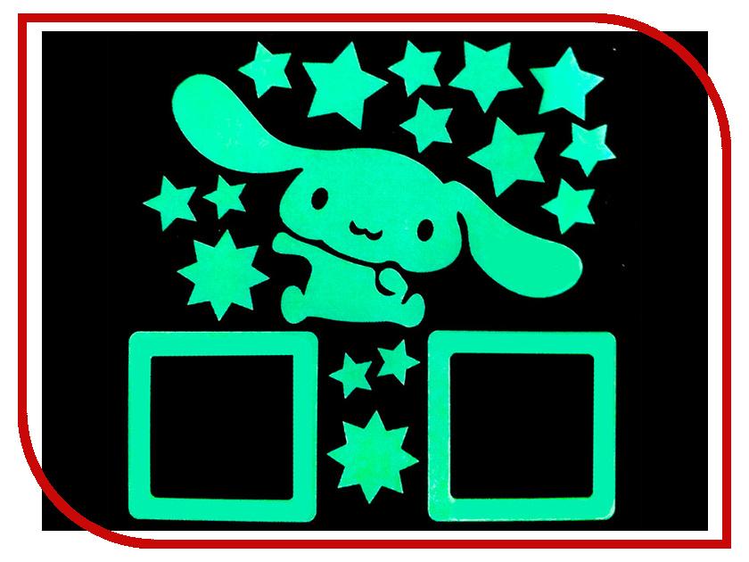 Наклейка на выключатель Freeze Light Зайчик FL-НВЗ-18 наклейка на выключатель freeze light фея и звезды fl нвфз 18