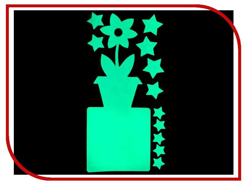 Наклейка на выключатель Freeze Light Цветок FL-НВЦ-18