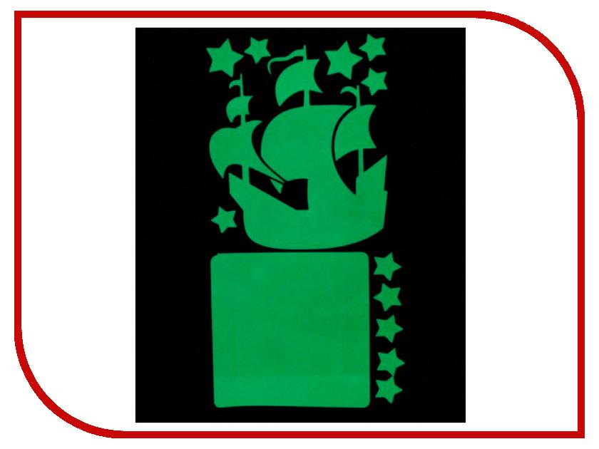 Наклейка на выключатель Freeze Light Кораблик FL-НВК-18 наклейка на выключатель freeze light фея и звезды fl нвфз 18