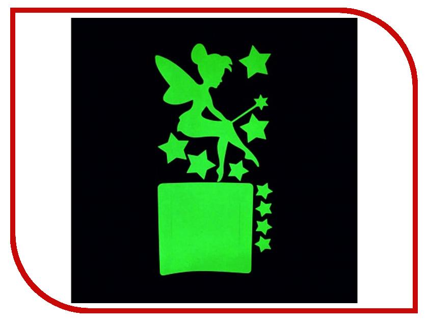 Наклейка на выключатель Freeze Light Фея и Звезды FL-НВФЗ-18