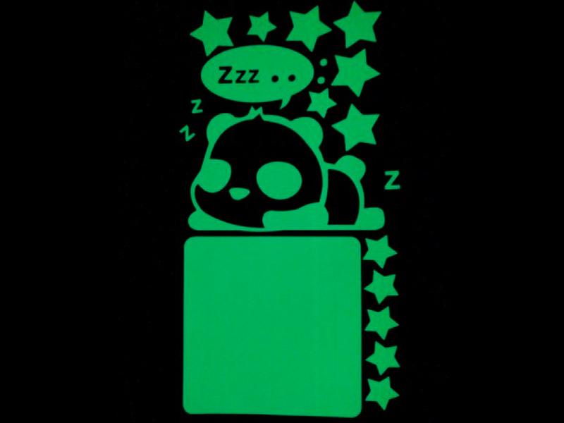 Набор для творчества Наклейка на выключатель Freeze Light Панда FL-НВП-18