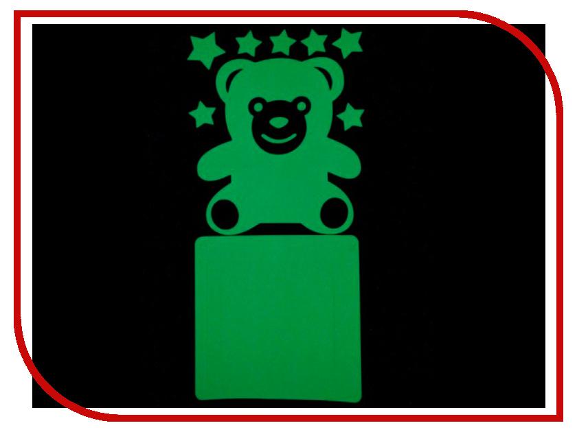 Наклейка на выключатель Freeze Light Медведь FL-НВМД-18