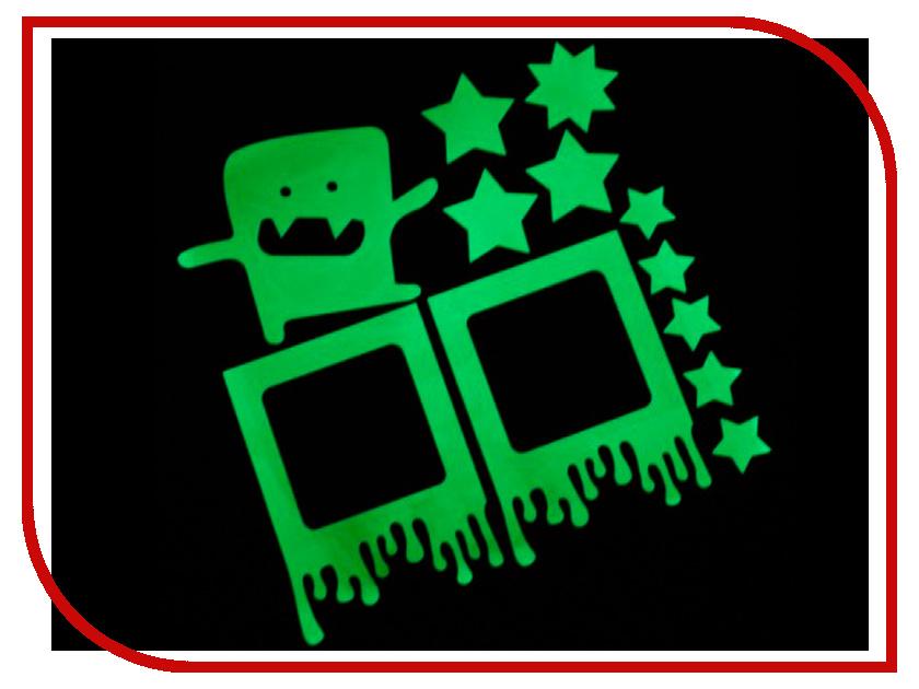 Наклейка на выключатель Freeze Light Монстрик FL-НВМЗ-18 наклейка на выключатель freeze light фея и звезды fl нвфз 18