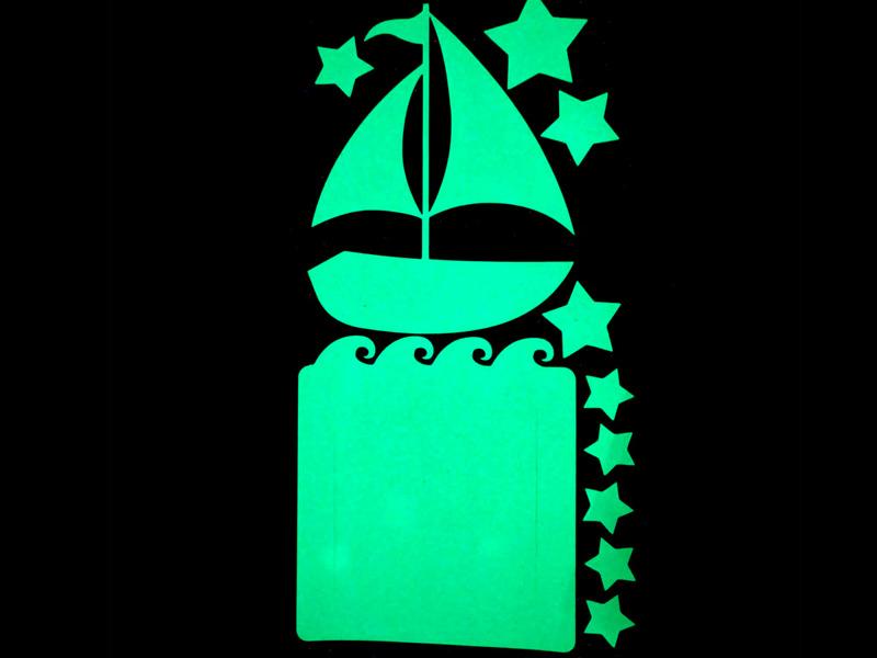 Набор для творчества Наклейка на выключатель Freeze Light Лодочка FL-НВЛ-18