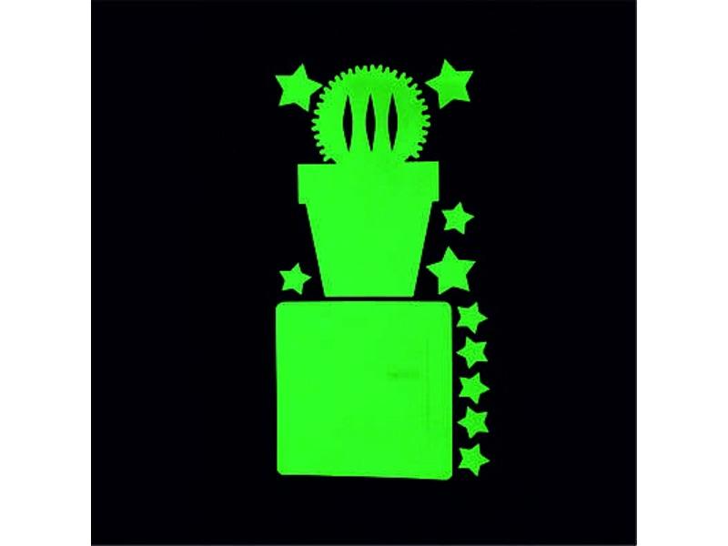 Набор для творчества Наклейка на выключатель Freeze Light Кактус FL-НВКА-18
