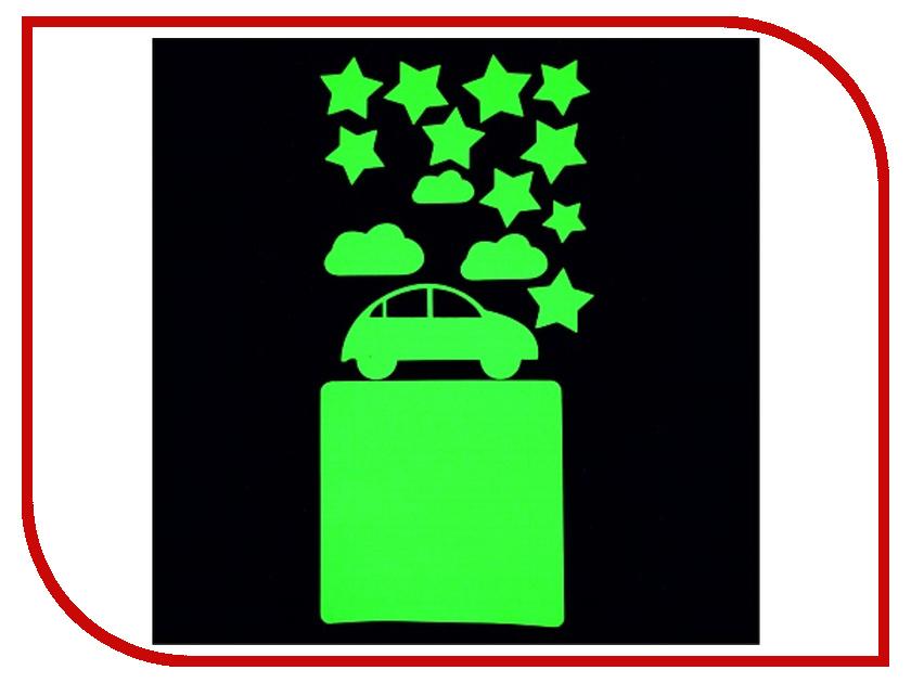 Наклейка на выключатель Freeze Light Машинки FL-НВМа-18