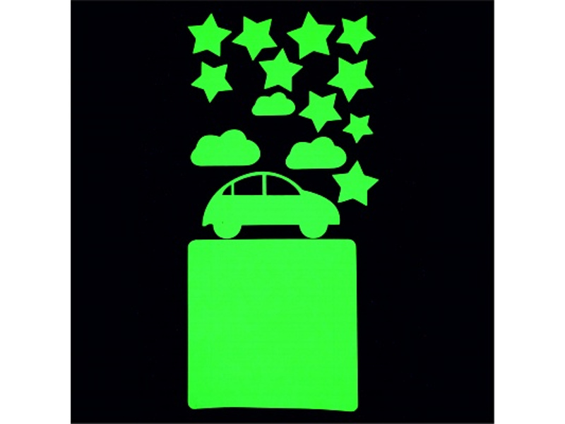 Набор для творчества Наклейка на выключатель Freeze Light Машинки FL-НВМа-18