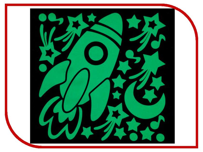 Наклейка декоротивная Freeze Light Ракета FL-НДРа-18