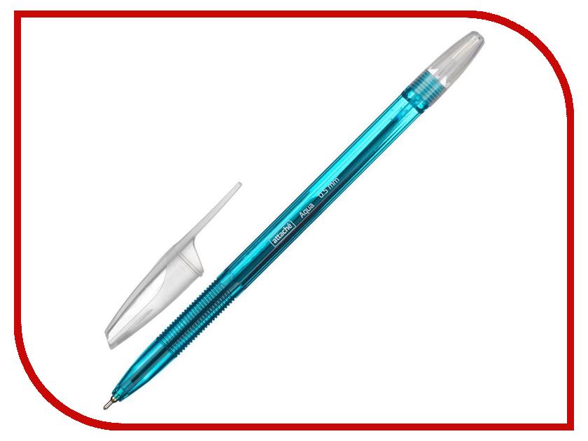 Ручка шариковая Attache Aqua Light Blue 709851 ручка шариковая attache bo bo blue 131233