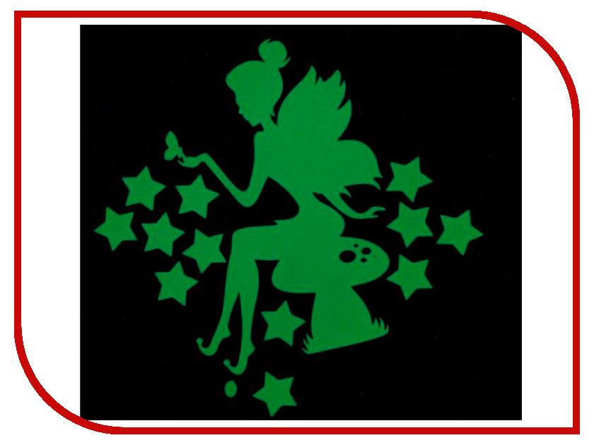 Наклейка декоративная Freeze Light Фея на грибочке FL-НДФГ-18 наклейка на выключатель freeze light фея и звезды fl нвфз 18
