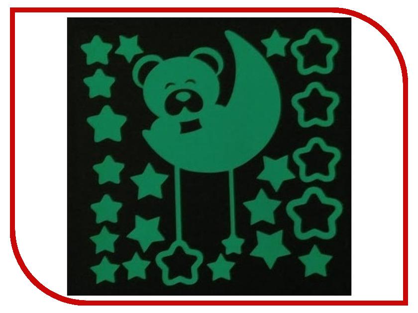 Наклейка декоративная Freeze Light Лунный медвежонок FL-НДЛУМ-18