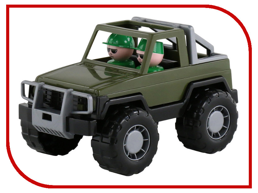 Игрушка Полесье Джип военный Сафари 47038 стоимость