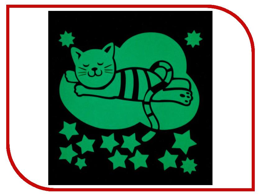 Наклейка декоративная Freeze Light Котик на облочке FL-НДОК-18 ракетка neottec 2000c fl