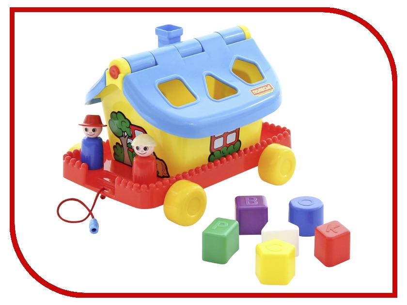 Игрушка Полесье Садовый домик на колёсиках 56443 сортеры полесье сказочный домик на колёсиках