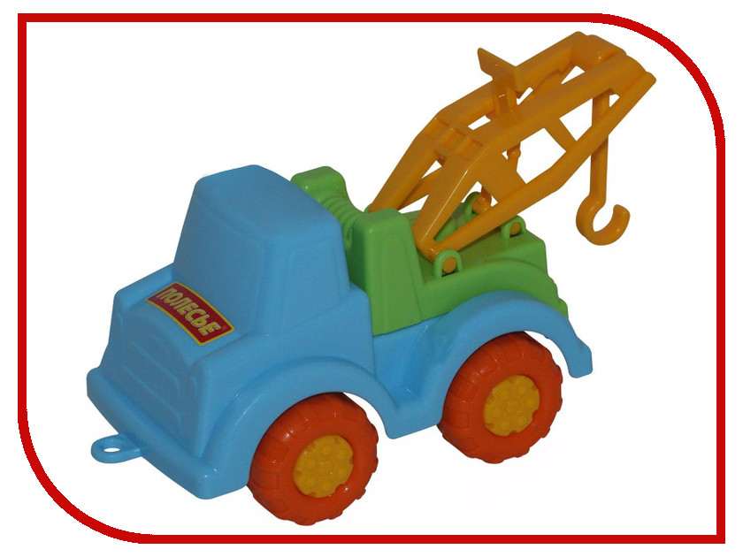 Игрушка Полесье Эвакуатор Ромка 4786 полесье эвакуатор мой первый грузовик цвет желтый оранжевый
