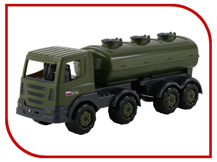 Игрушка Полесье Престиж военный с полуприцепом-цистерной 48615
