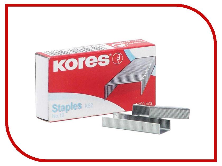 Купить Скобы для степлера Kores N10 1000шт 60914