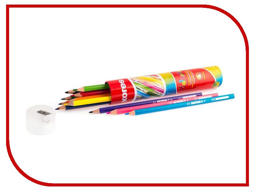 Карандаши цветные Kores 12 цветов 368372 карандаши цветные kores 48 цветов 24шт 128907