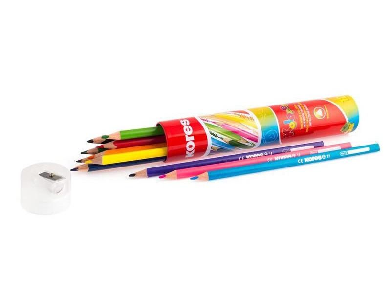 Карандаши цветные Kores 12 цветов 368372
