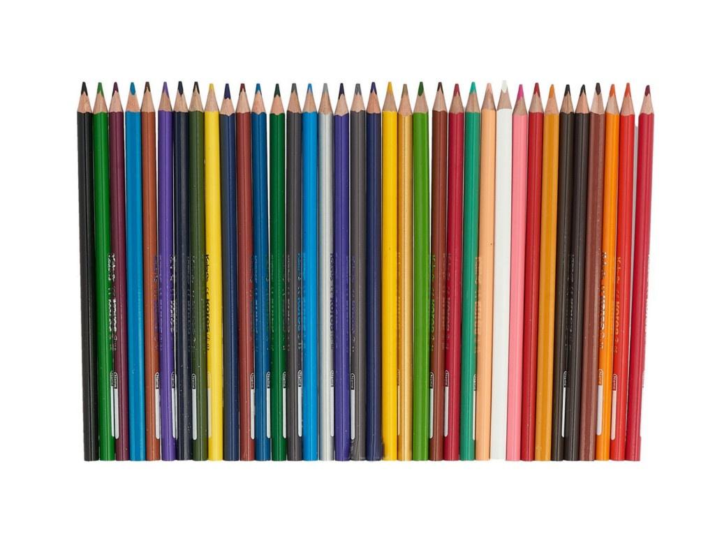 Карандаши цветные Kores 36 цветов 128901