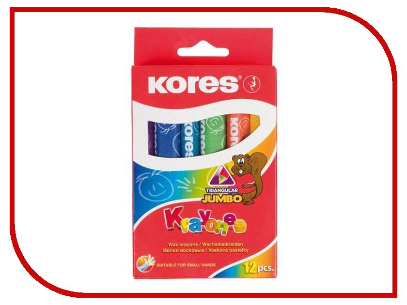 Восковые мелки Kores Krayones Jumbo 12 цветов 209550