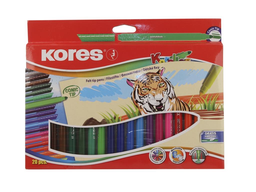 Фломастеры Kores 20 цветов 313361