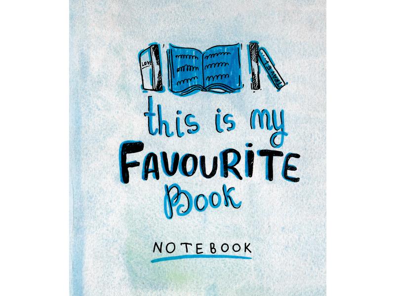 Тетрадь №1 School Favourite Book А5 48 листов 695922