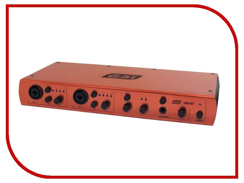 Аудиоинтерфейс ESI U86 XT аудиоинтерфейс esi u168 xt