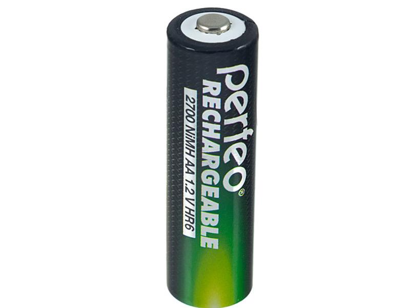 Аккумулятор AA - Perfeo AA4BL+Box 2700mAh (4 штуки) батарейка aa perfeo lr6 4bl super alkaline 4 штуки