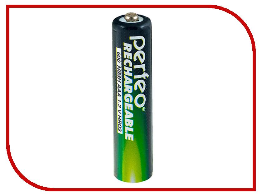 Аккумулятор AAA - Perfeo AAA/2BL 600mAh (2 штуки)