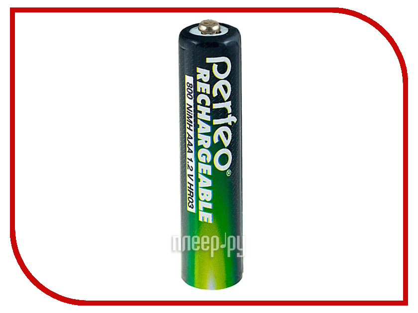 Аккумулятор AAA - Perfeo AAA2BL 800mAh (2 штуки)