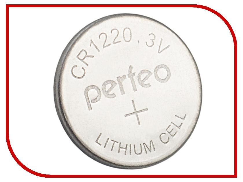 Батарейка Perfeo CR1220/5BL Lithium Cell (5 штук)