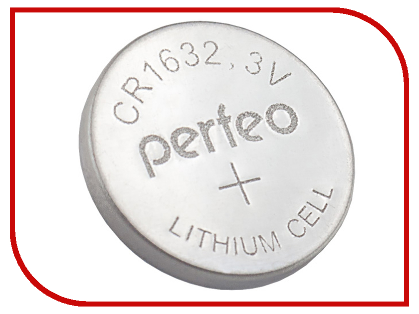 Батарейка Perfeo CR1632/5BL Lithium Cell (5 штук) радиоприемник perfeo егерь fm синий i120 bl