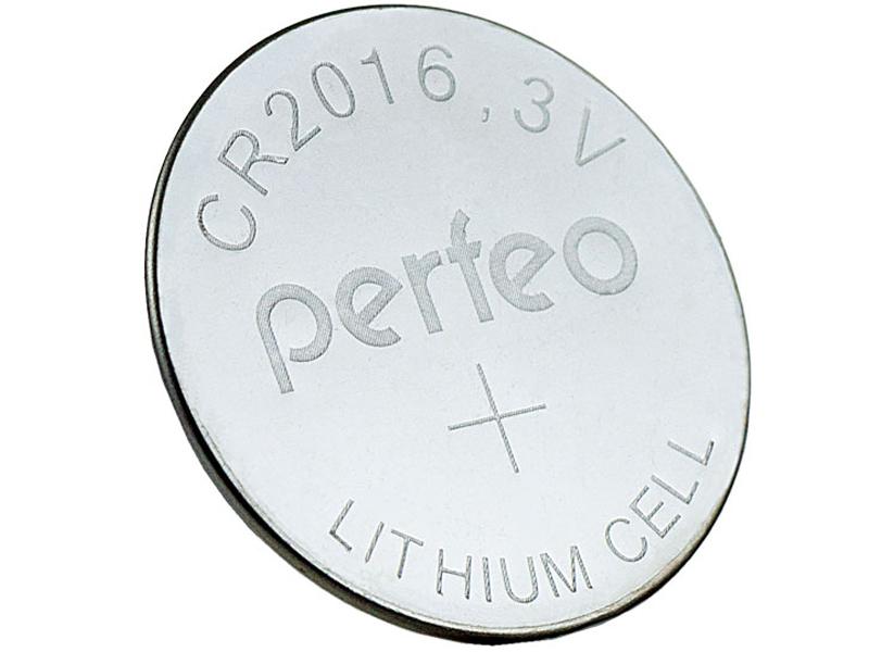 Батарейка Perfeo CR2016/2BL Lithium Cell (2 штуки)