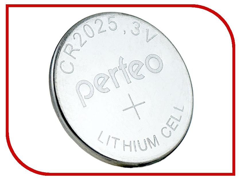 Батарейка Perfeo CR2025/2BL Lithium Cell (2 штуки) радиоприемник perfeo егерь fm синий i120 bl