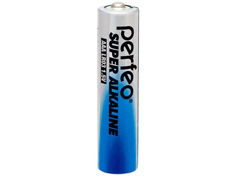 Батарейка AAA - Perfeo LR03/10Shiring Card Super Alkaline (10 штук)