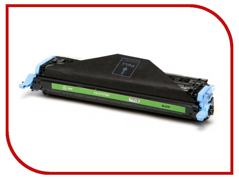 Картридж Cactus CS-C707BK Black для Canon LBP i-Sensys 5000/5100 принтер canon i sensys colour lbp653cdw лазерный цвет белый [1476c006]