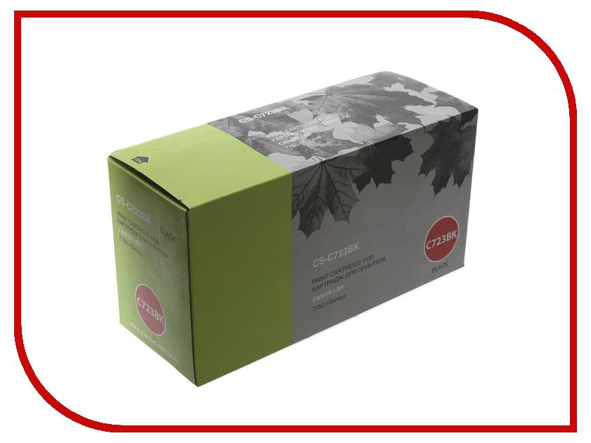Картридж Cactus CS-C723BK Black для Canon i-Sensys 7750 цена