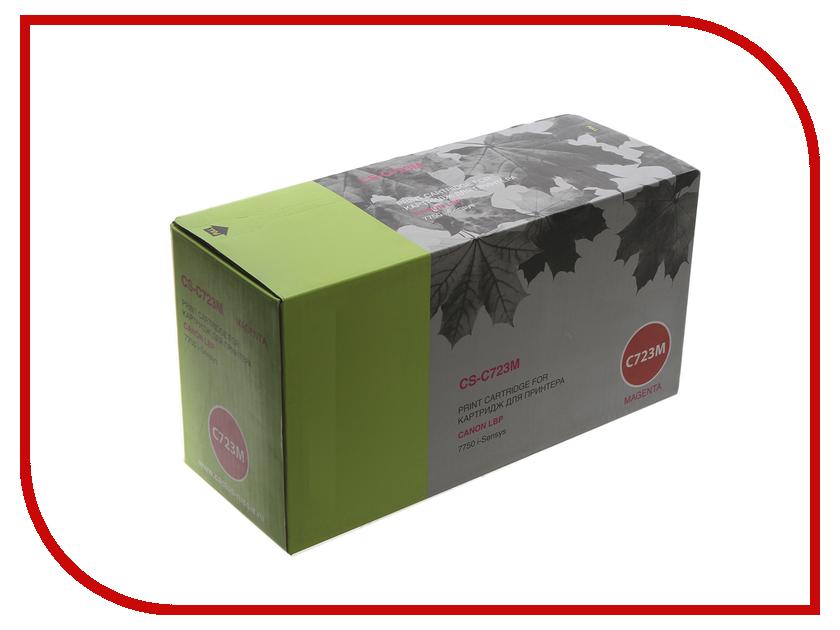 Картридж Cactus CS-C723M Magenta для Canon i-Sensys 7750 принтер canon i sensys colour lbp653cdw лазерный цвет белый [1476c006]