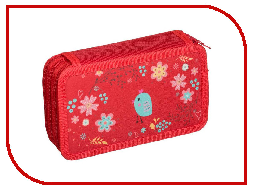Фото - Пенал №1 School Птички 699485 пенал dakine lunch box 5 l augusta